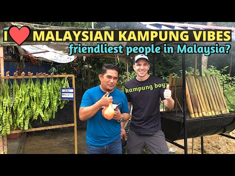Malaysian Kampung road trip! With my Abang- Seremban, Negeri