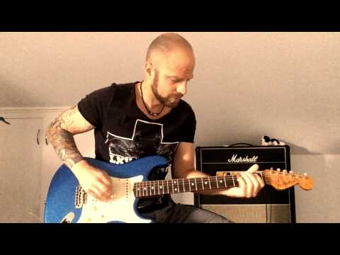 Bluesrock Solo Guitar - Jam Pedals Fuzz Phrase