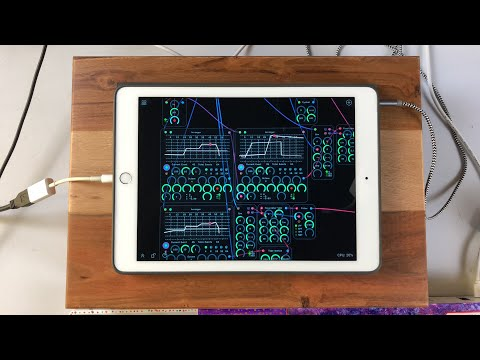 Let's Play With AUDULAS 3 - This is NOT a Tutorial, It's a Celebration of Genius - iPad Demo