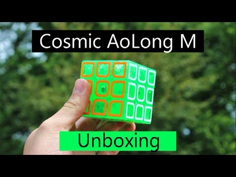 Limited Edition Transparent Cosmic MoYu AolongV2 M Unboxing | SpeedCubeShop.com