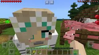 Chơi Minecraft cùng Lina | Làng Ngố |