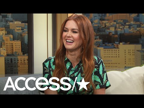 Isla Fisher Says Husband Sacha Baron Cohen Plans Date Night Because He's A Foodie | Access