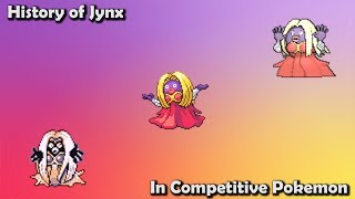 How GOOD was Jynx ACTUALLY? - History of Jynx in Competitive Pokemon (Gens 1-7)