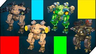 МОИ СУПЕР РОБОТЫ - Игра War Robots. Игры на андроид. Битва роботов