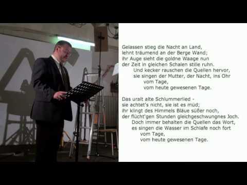 JAVIER HAGEN (JIP, 1971) . modul 1.1 (2011) - Text von Eduard Mörike