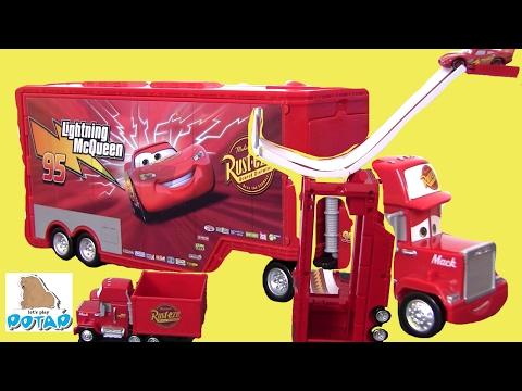 Мультики про Машинки #Молния Маквин Мультик Transforming Mack #Игрушки для Мальчиков! для детей