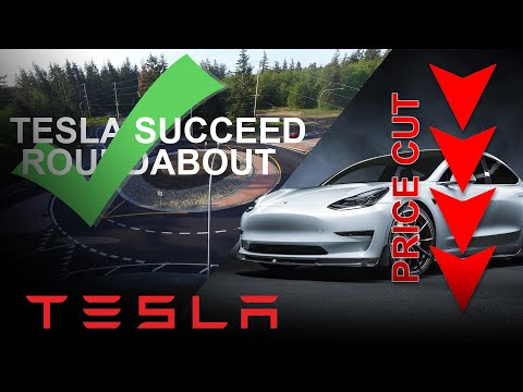 Self-Drive A Roundabout, Tesla Price Cut, Update 2020.16.2.1 And Spotify Still Has Major Bug