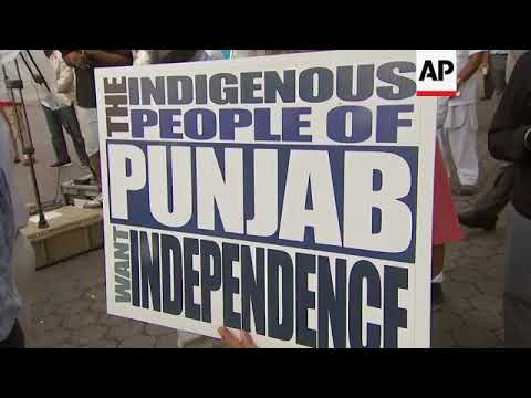 New York Sikhs demand vote to secede Punjab from India