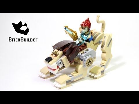 Lego Chima 70123 Lion Legend Beast Complete build, unboxing and review NEW 2014