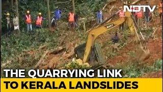 """Most Recent Kerala Landslides In """"Ecologically Sensitive Zones"""""""
