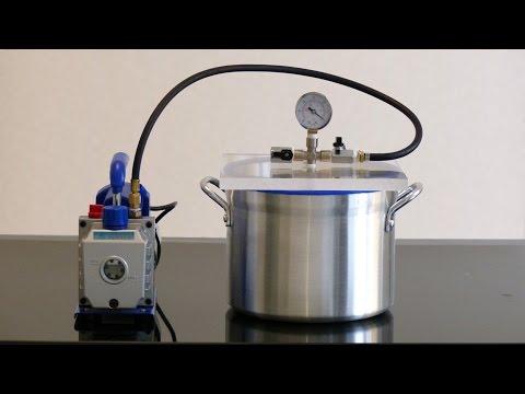 Vacuum Degassing Chamber and Pump