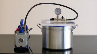 Vacuum Degassing Chamber and Pump