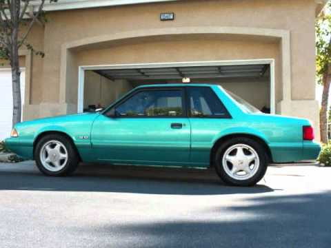 1993 Ford Mustang Lx Notchback 5 0 Youtube