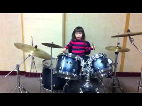 Celeste, more advanced on drums