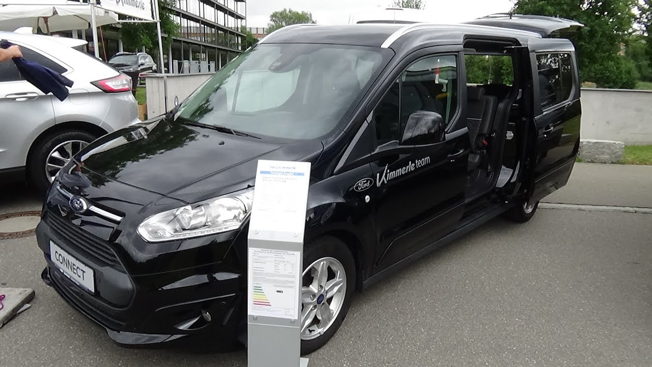 2017 Ford Grand Tourneo Connect 230 L Titanium - Exterior and Interior - autoMOBIL Tübingen 2017 ...