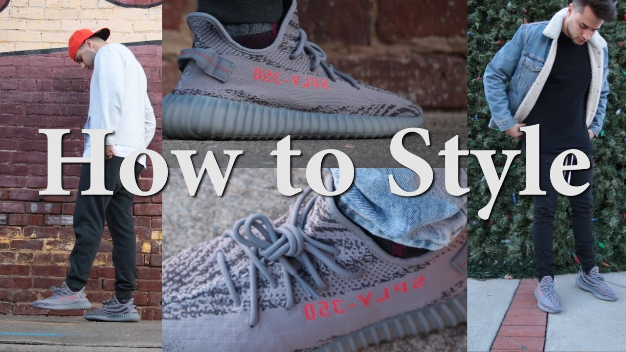 27eb82f28 How to Style the Yeezy 350 V2 Beluga 2.0 - YouTube