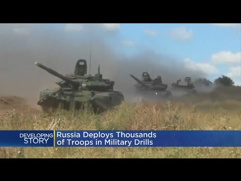 Russia Launches Biggest War Games Since Cold War
