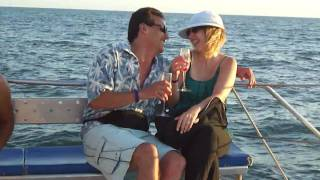 Honeymoon in Mazatlán in a sunset boat.MP4