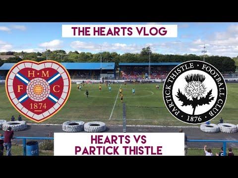 SCORCHING STRIKES!!! | Hearts VS Partick Thistle | The Hearts Vlog Season 4 Episode 1