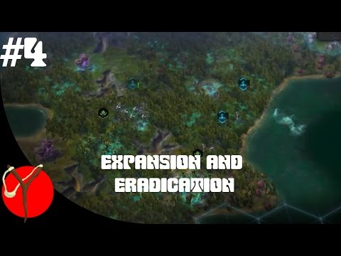 Souless plays: Civilization Beyond Earth EP 4 Expansion and eradication