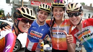 Highlights from the 2015 UCI Women Road World Cup / Philadelphia Classics