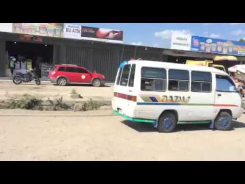 Mikrolet ride in Dili, Timor Leste, aka East Timor
