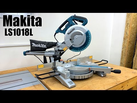 Unpacking My New Miter Saw Makita Ls1018 L Youtube