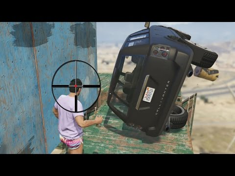 CORRES O MUERES! IMPOSIBLE!!! - Gameplay GTA 5 Online Funny Moments (GTA V PS4)