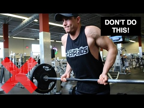 How to PROPERLY Barbell Row | 3 Barbell Row Variations for Muscle Gain