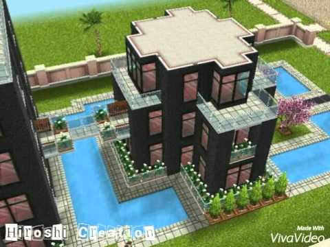 the simsfreeplay - house idea ( urban ) - youtube