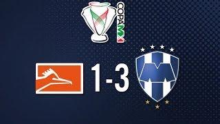 Correcaminos vs Monterrey 1-3 Jornada 1 Apertura 2015 Copa MX - 29 de Julio 2015