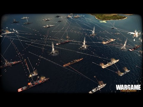 Тихоокеанский Флот в Действии! Стратегия Wargame Red Dragon на ПК. ВМФ СССР ( России )