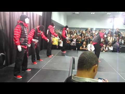 Jabbawockeez Surprise Performance at Sun Youth Forum