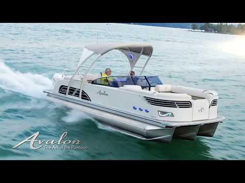 Ambassador Windshield Pontoon Boat | Avalon Pontoon Boats