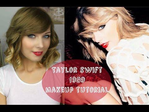Taylor Swift '1989' Make Up Tutorial | Rebecca Smile