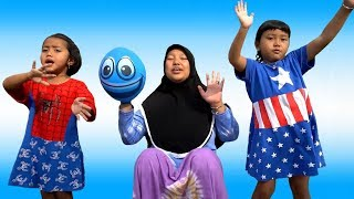 Belajar Warna Sambil Bernyanyi Finger Family Song Nursery Rhymes Surprise Kinder Joy Eggs