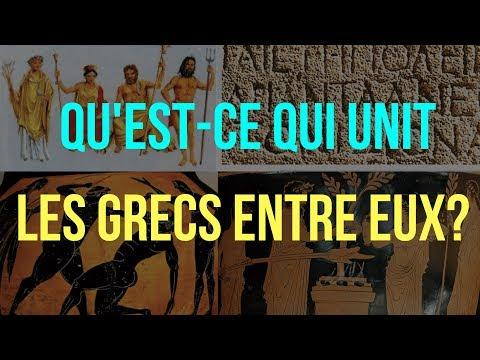 6ème. HISTOIRE. L'UNITÉ CULTURELLE du MONDE GREC