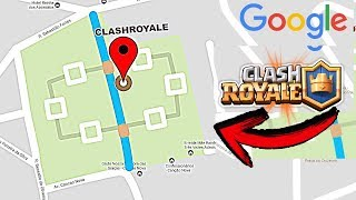 ¿QUE PASA SI BUSCAS CLASH ROYALE en GOOGLE MAPS? NO CREERÁS el SECRETO que ESCONDE! [Fernando CoC] Free HD Video