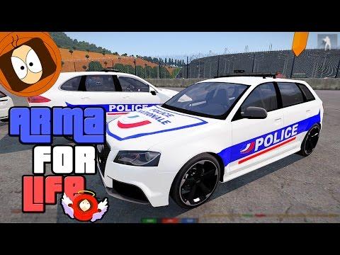 POLICE NATIONALE : LA POLICE DE DUBAÏ - PORSCHE BMW AUDI ! | ARMA FOR LIFE