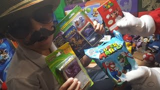 Super Mario & Carl Opening Pokemon Cards and Mario Stuff! THE MOST EPIC UNBELIEVABLE GOLDEN PULLS!