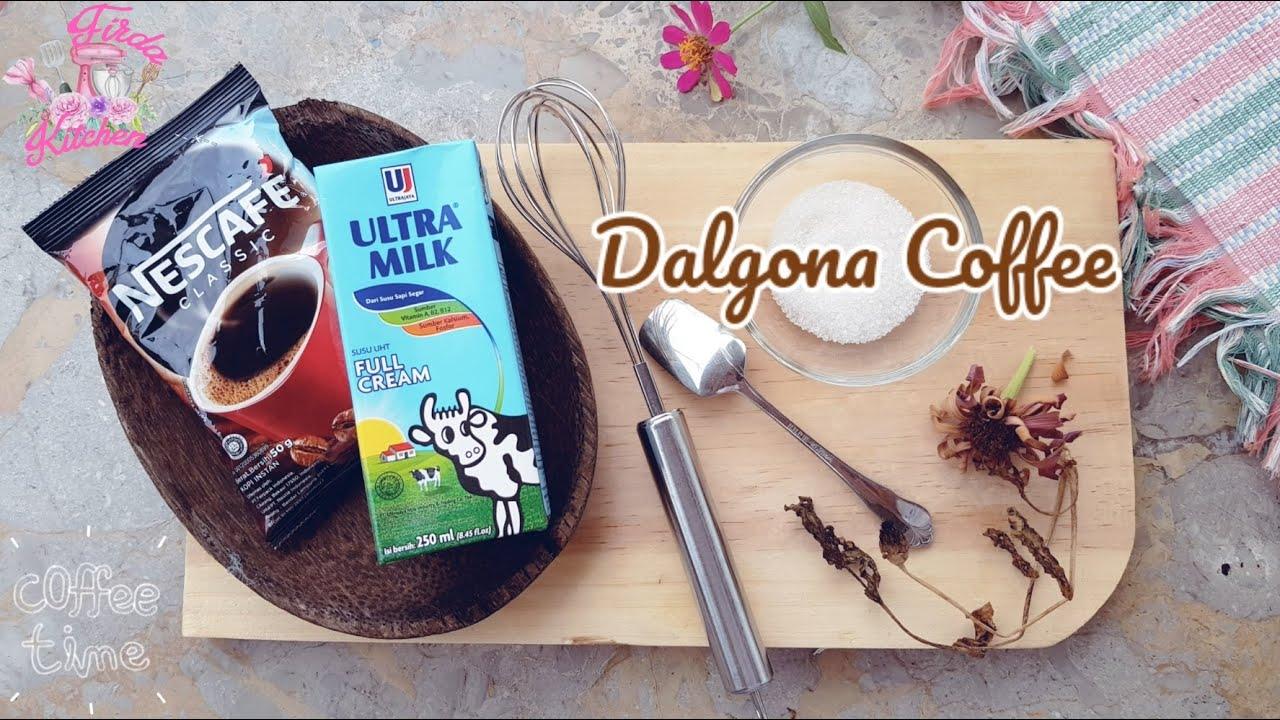 CARA MUDAH & SIMPLE II CARA BUAT DALGONA COFFEE TANPA ...