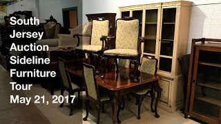 May 21, 2017 Sideline Furniture Tour - South Jersey Auction