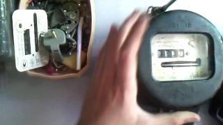 Электросчётчик СО-1 Ч. 2