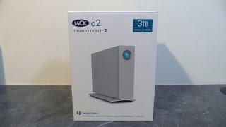 LaCie d2 Thunderbolt2 - Unboxing & first look