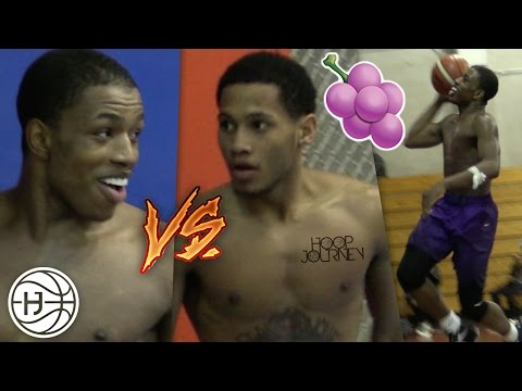 Jelly Fam 🍇 vs Mr.NYC! Isaiah Washington and Markquis Nowell INTENSE 1 on 1 Battle! PART 1