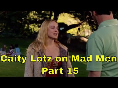 Caity Lotz on Mad Men  Part 15