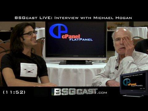 BSGcast LIVE: INTERVIEW with Michael Hogan