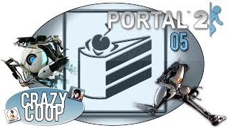 Portal 2 |05| Um die Ecke gedacht - Crazy Coop
