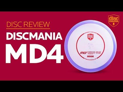 Discmania MD4 (Midrange Driver) Golf Disc Review
