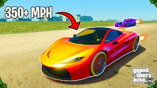 How To Do The FASTEST VEHICLE SPEED GLITCH In GTA 5 Online! (Go Over 350+ MPH)